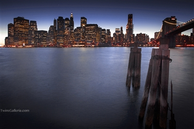 NYC Landscape & Fine Art Photography Print: Manhattan At Sunset