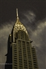 NYC Fine Art Photography Print of Chrysler Building with Dark Sky