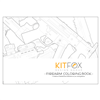 Kitfox Design Group Firearm Coloring Book
