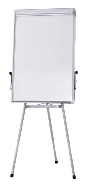 Flip Chart Easel with Whiteboard Magnetic Surface (tripod stand) - 2 x 3' (feet)