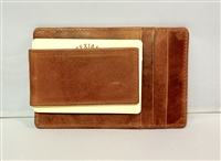Saddle Tan Money Clip