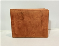 Saddle Tan RFID Bi-Fold
