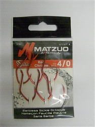 Matzuo Barbless Sickle Octopus Hook (T2-64)