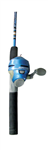 Zebco Slingshot Blue Push-Button Combo (T1-27)