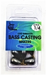 Jeros Tackle Lead Substitute Bass Casting Sinkers (T2-70)
