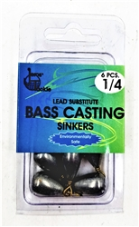 Jeros Tackle Lead Substitute Bass Casting Sinkers (T2-32)