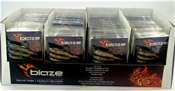 Display Case of Blaze Fishing Gear Natural Swimbaits (T5-13)