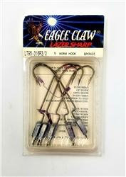 Eagle Claw Lazer Weighted Work Hook (T3-49)