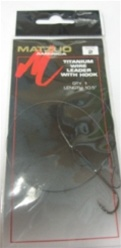 Matzuo Wire Leader w/ Hook (T3-19)