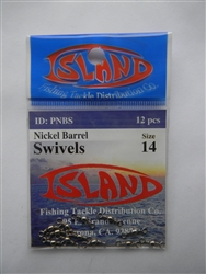 Island Barrel Swivels (T2-3)
