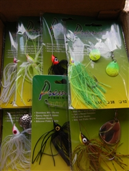 Premium Spinner Bait Pre-Assortment 72Ct. (T4-14)