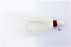 Round Head Bucktail Jig Bag of 12 (T3-40-1)