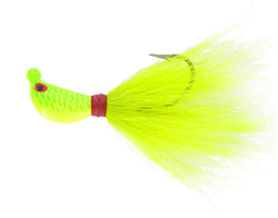 Super Striper Bucktail Jig Bag of 12 (T3-25-3)