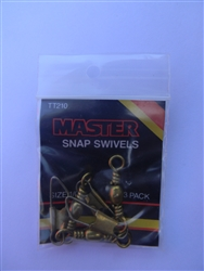 Master Snap Swivels (2-9)