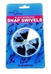 Jeros Tackle Interlock Snap Swivel Dial Pack Assortment (T2-32)