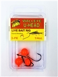 Arkie Walleye U-Head Jigs (T4-3)