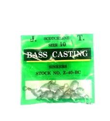 Scotchline Bass Casting Sinkers (T2-36)