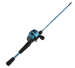 Zebco Slingshot Blue Push-Button Combo (T1-12)