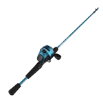 Zebco Slingshot Blue Push-Button Combo (T1-9)