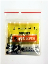 Scotchline Rubber Core Sinkers (T2-36)
