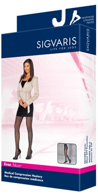 Sigvaris 780 Eversheer Pantyhose 15/20 Closed Toe