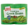 Libby's French Style Green Beans, 14.5 Oz, 4 Cans