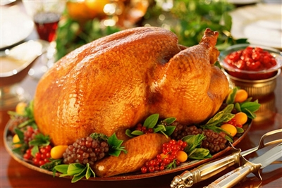 Turkey Holiday Dinner for 3-4 people