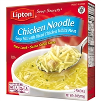 Lipton Chicken Noodle Soup Mix 4.2 oz