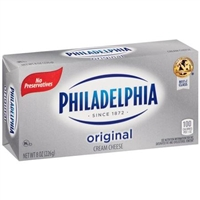 Philadelphia Cream Cheese (one) 8 oz