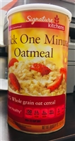 SS Quick One minute Oats 18 oz