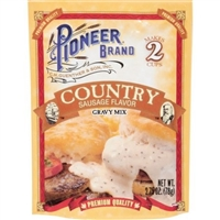 Pioneer Country Gravy Mix Sausage Flavor 2.75oz