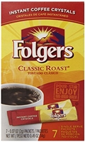 Folgers Instant Coffee Crystals 7 pk