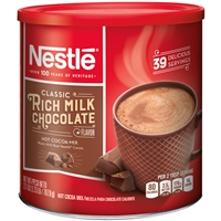 Nestle Classic Rich Milk Chocolate Hot Cocoa Mix, 39 servings, 27.7oz