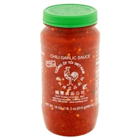 Huy Fong Foods Chili Garlic Sauce , 18 oz