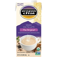 Oregon Chai, Organic Chai Tea Latte Concentrate, Original, 32 oz, 3 ct
