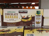 Kirkland Organic Chocolate Banana 18/8.25 Ounce