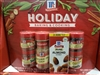 McCormick Holiday 6 Spice Pack