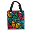 MULTI-MOSAIC BUTTERFLY TOTE BAG & UMBRELLA SET