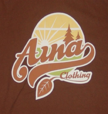 Aina Clothing organic cotton sunset t-shirt