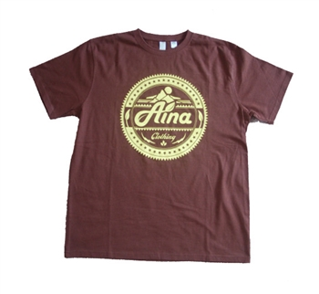 Men's Aina Clothing seal organic cotton t-shirt