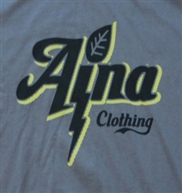 Men's eco-friendly Aina Clothing organic cotton Lightning T-Shirt