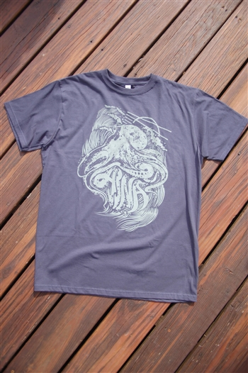Aina Clothing organic cotton octopus t-shirt