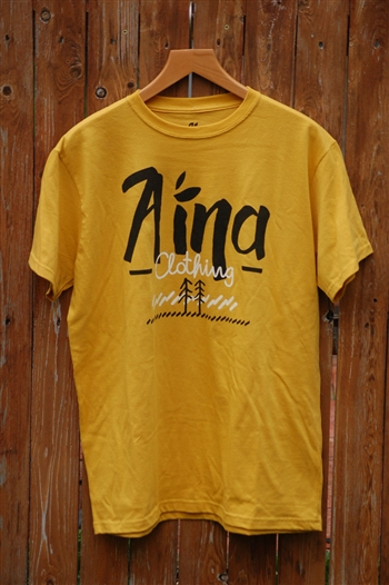 Men's Aina Clothing Two Trees organic cotton tshirt