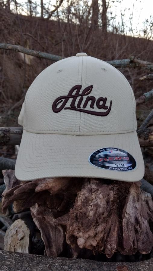 5a03cce9106 Aina Clothing Logo FlexFit Organic Cotton Hat