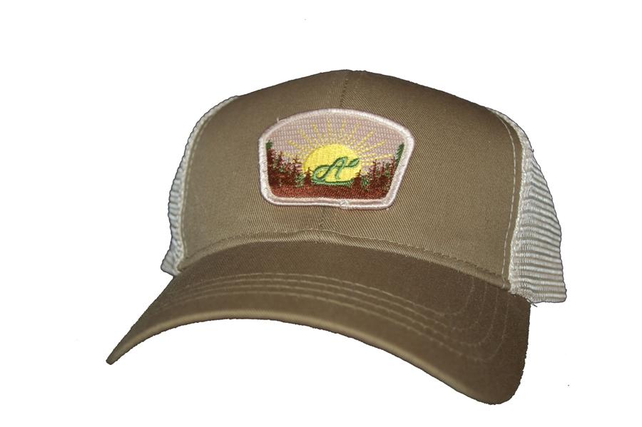 c8d1dec7510 Aina Clothing Quoddy Head organic cotton trucker hat