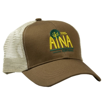 Aina Clothing Sentinel Trail organic cotton trucker hat