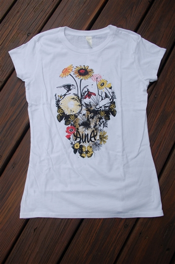 Aina Clothing women organic cotton nature skull t-shirt