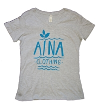 Women's Aina Clothing organic cotton Atlantic v-neck
