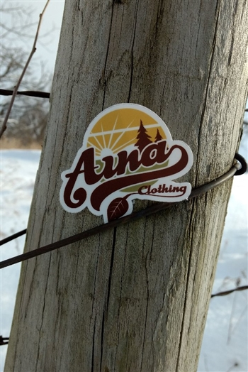 Aina Clothing Sunset Sticker