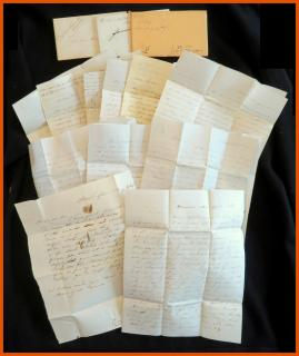 Emerson Family A Collection of Letters to the Emerson Family. .Ireland Depot, Holyoke, MA.1847-1857